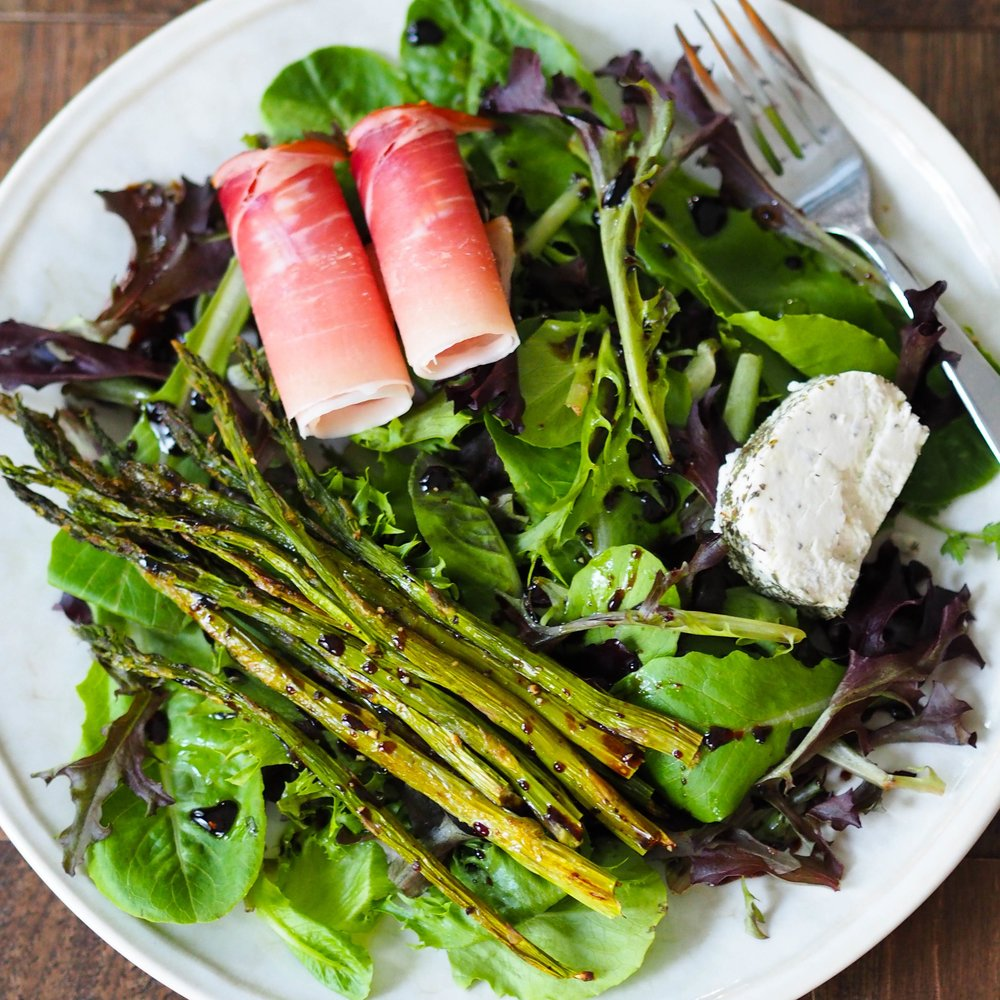 My Two Favorite Seasonal Asparagus Salads