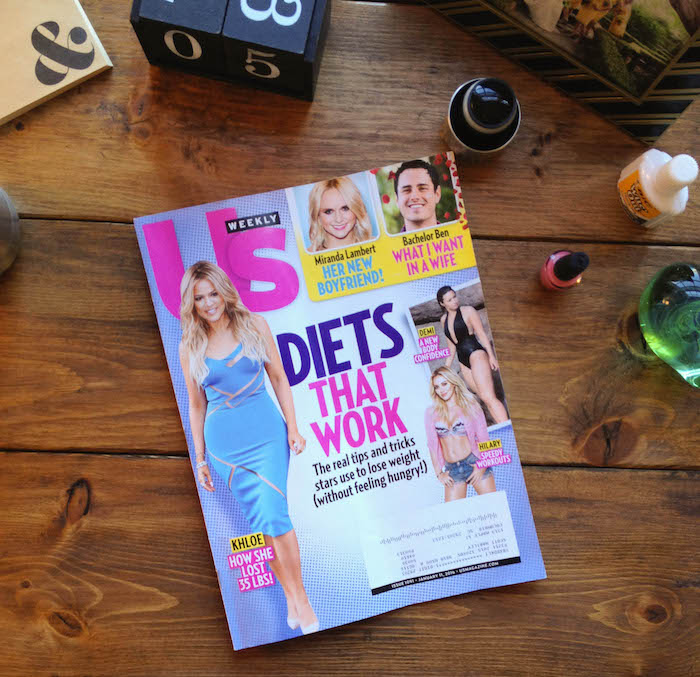 Trashy Magazines, Diets and Snark