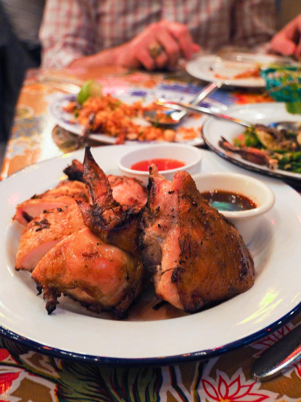 Island BBQ chicken