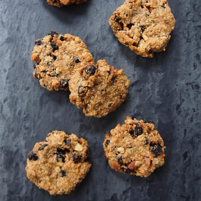 Almond Trail Mix Cookies