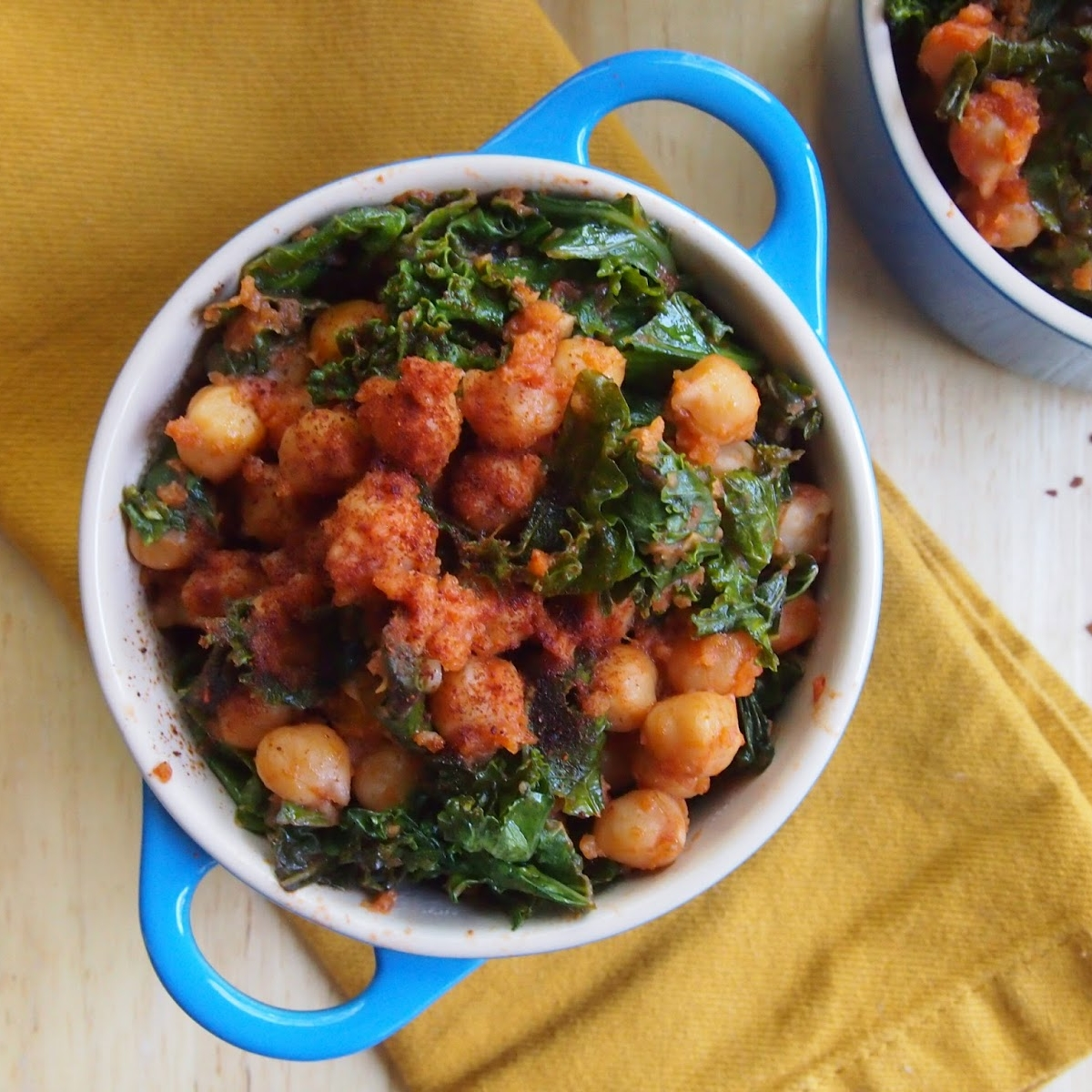 Spanish Chickpeas and Greens