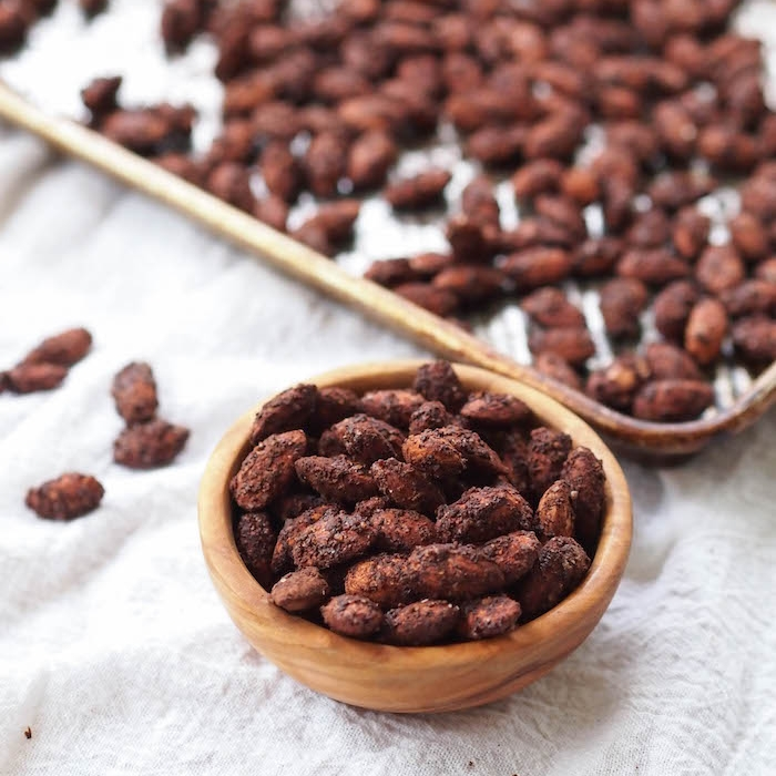 Mole Roasted Almonds