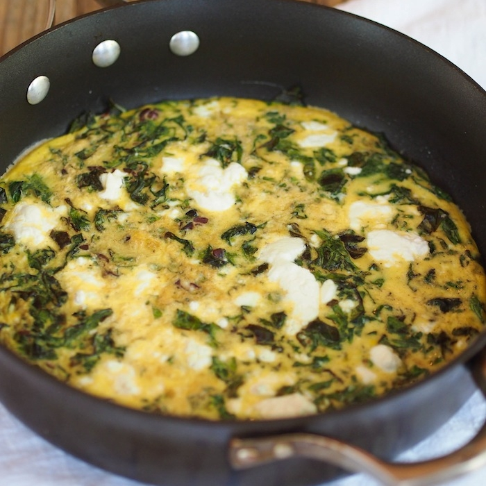 Greek Greens Frittata