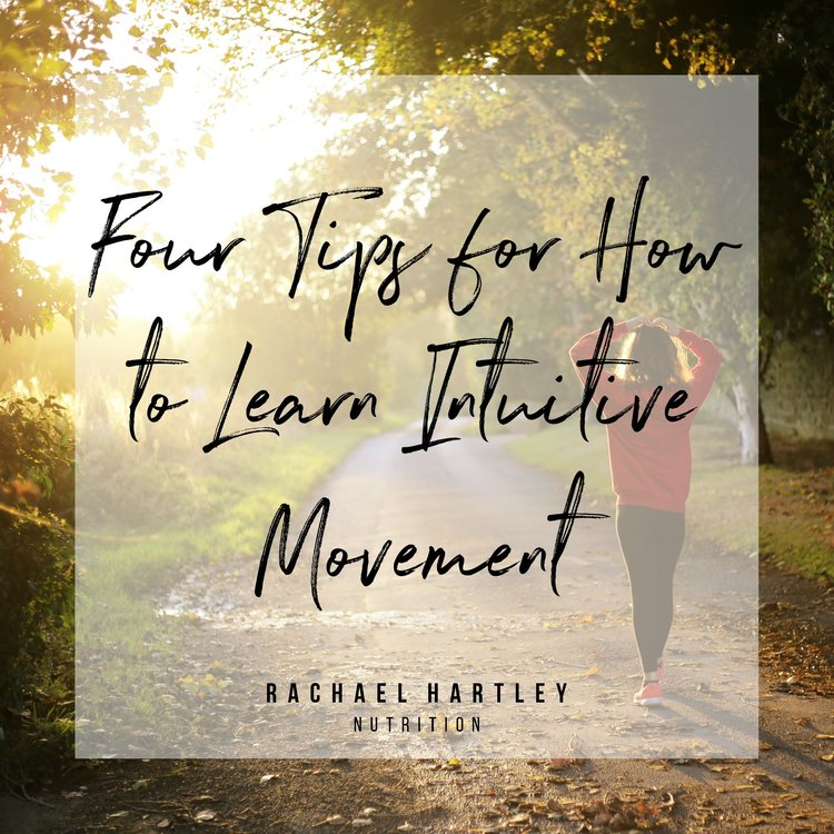 How to Learn Intuitive Movement
