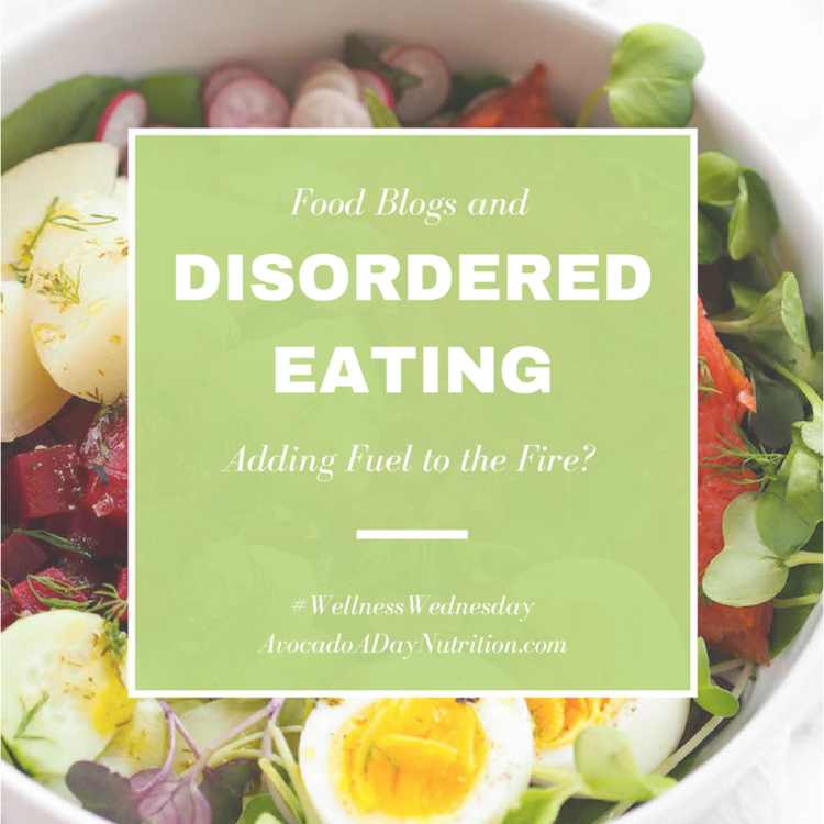 Food Blogs and Disordered Eating
