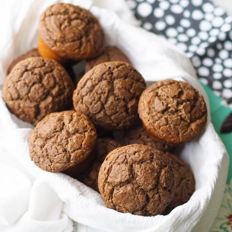 Multigrain Buttermilk Pancake Muffins