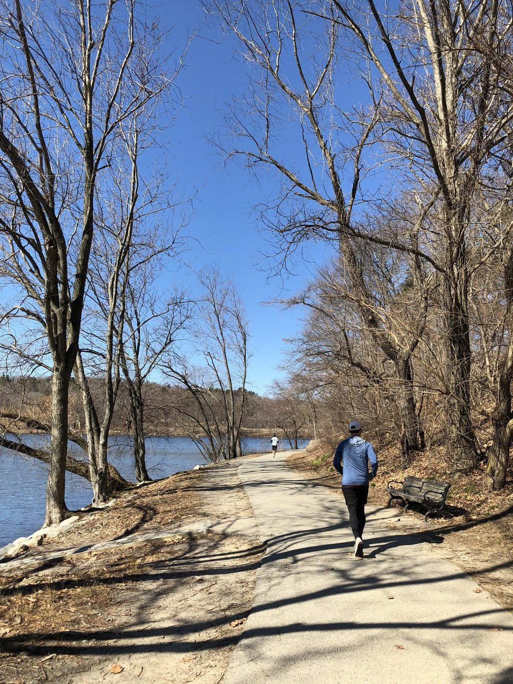 Long Weekend in Boston and Newport: Running Jamaica Pond