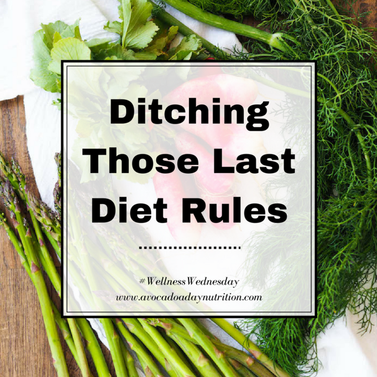 Ditching Those Last Diet Rules