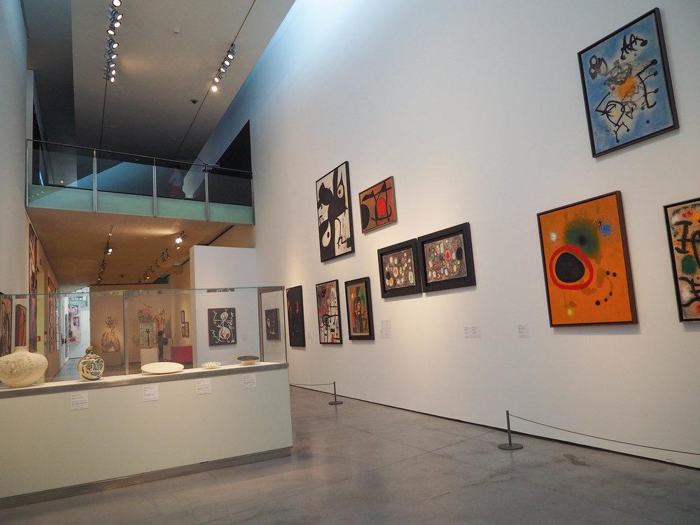 Joan Miro at Es Baluard