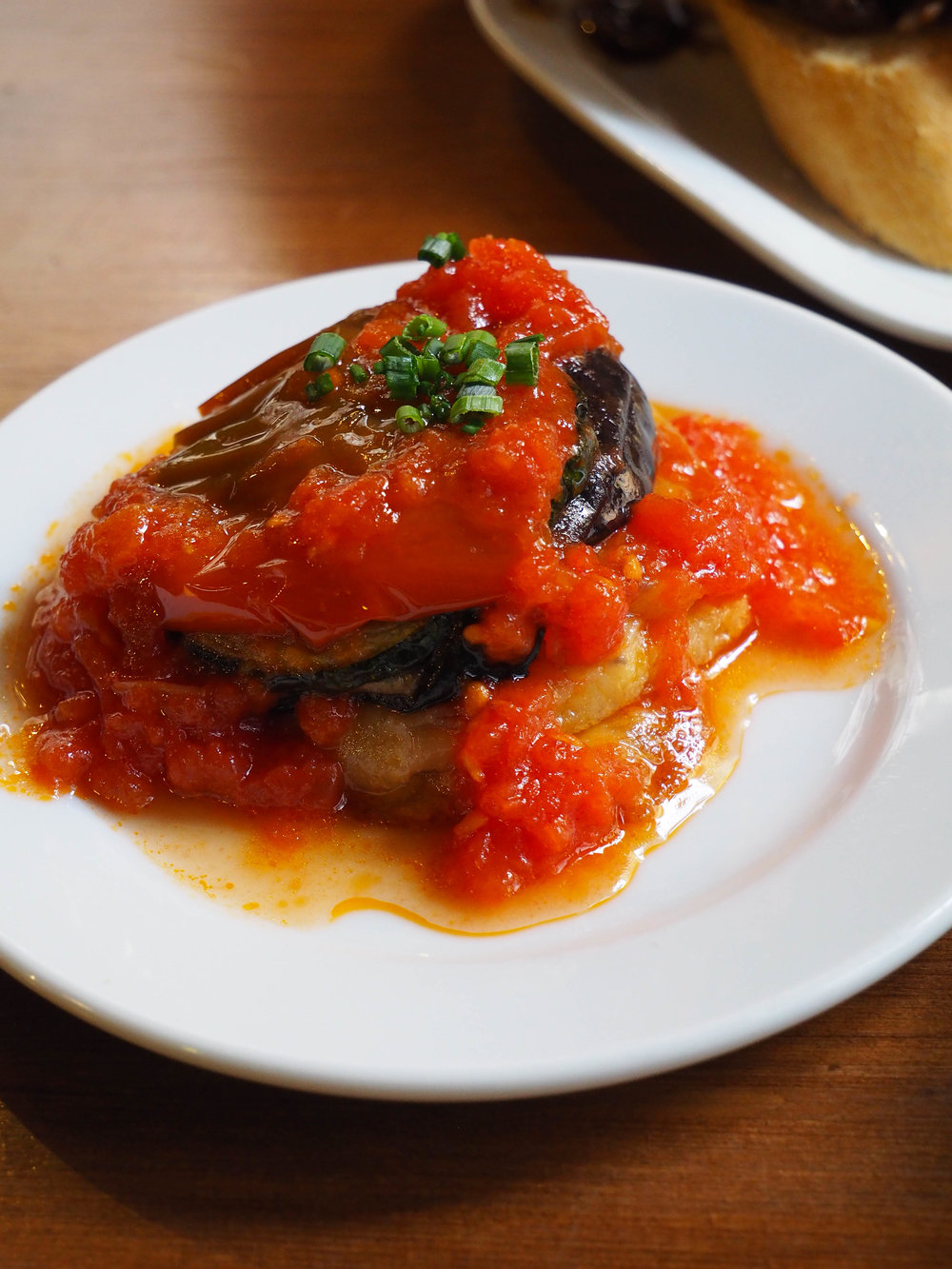 Toumbet, a traditional Mallorcan dish that's similar to ratatouille