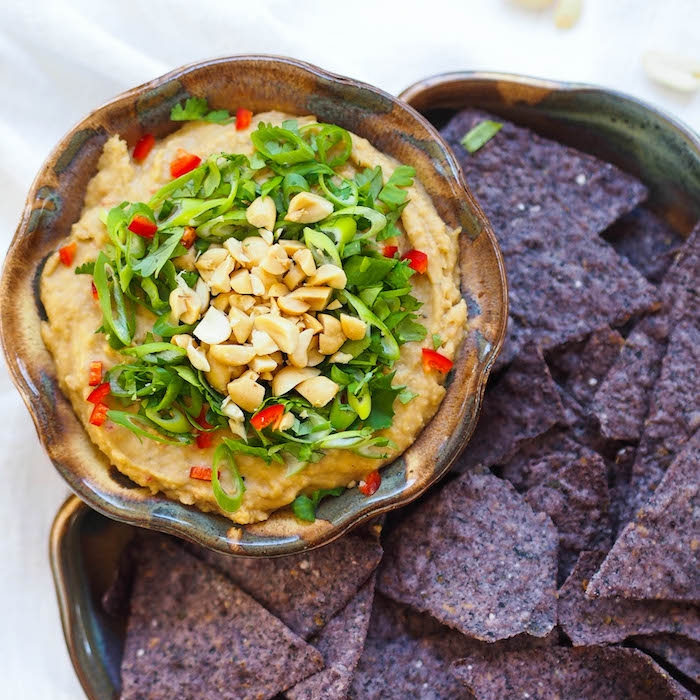 Asian Peanut Hummus