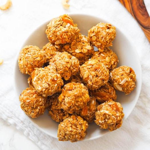 Salty Coconut Cashew Bites
