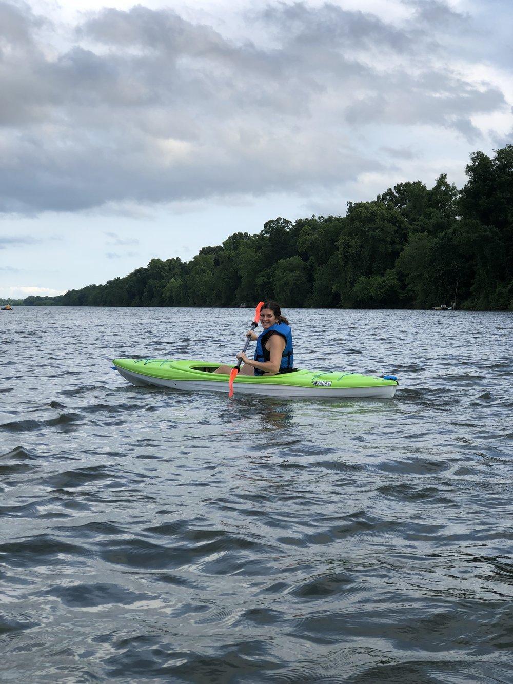 Gentle Movement I've Been Loving Lately #kayaking #joyfulmovement