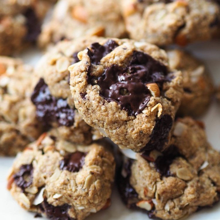 Gluten Free Everything But the Kitchen Sink Cookies
