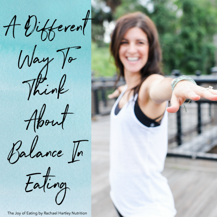 A Different Way to Think About Balance in Intuitive Eating