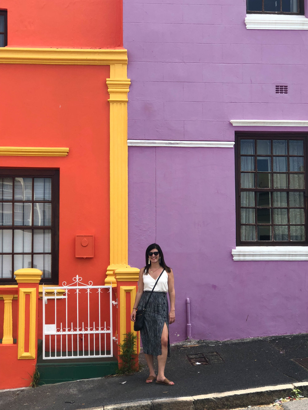 Obviously I had to pose in front of the Clemson houses