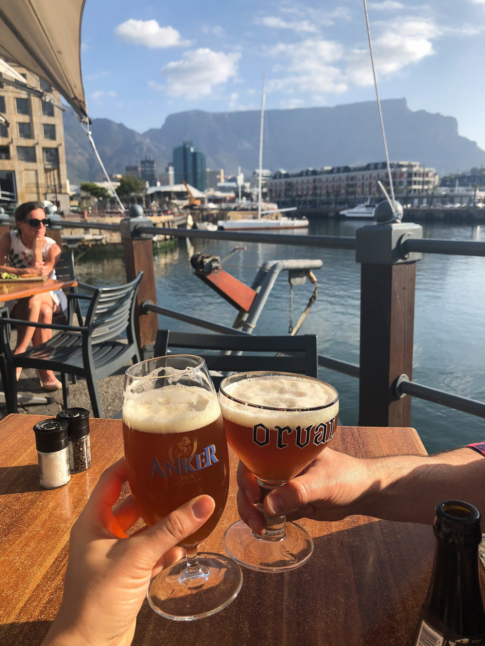 Beers at V&A Waterfront Cape Town
