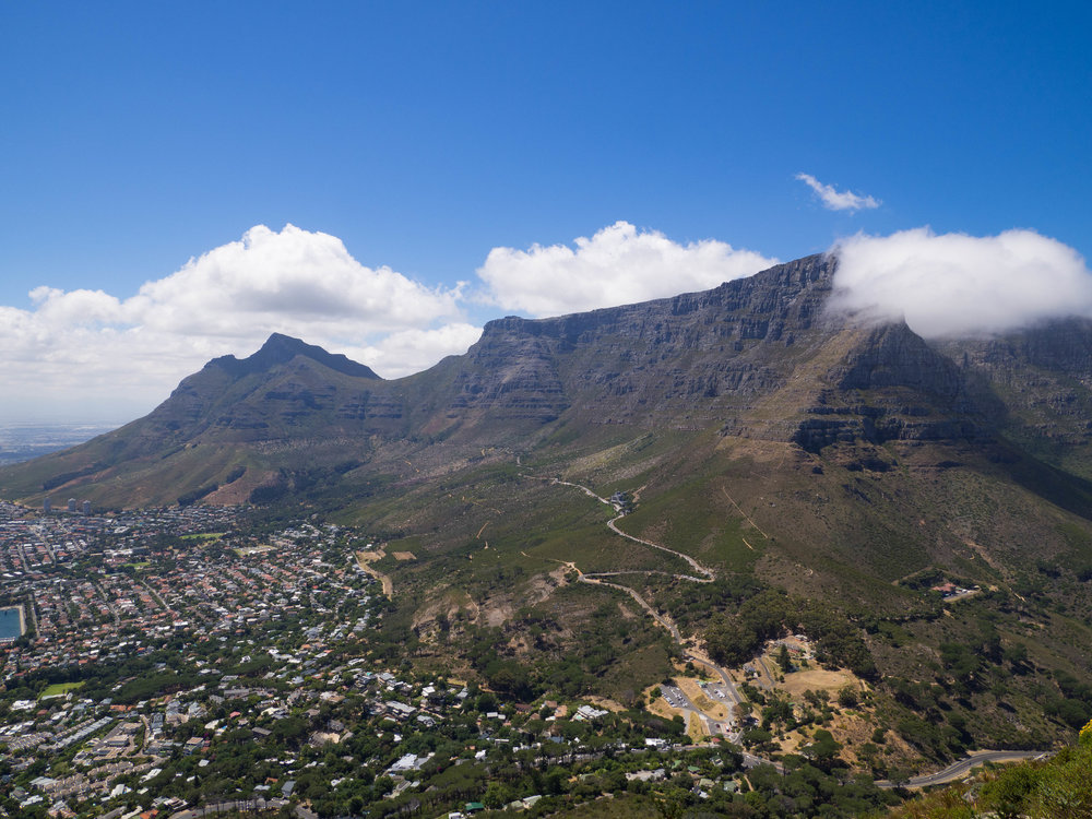 Table Mountain from Lion's Head