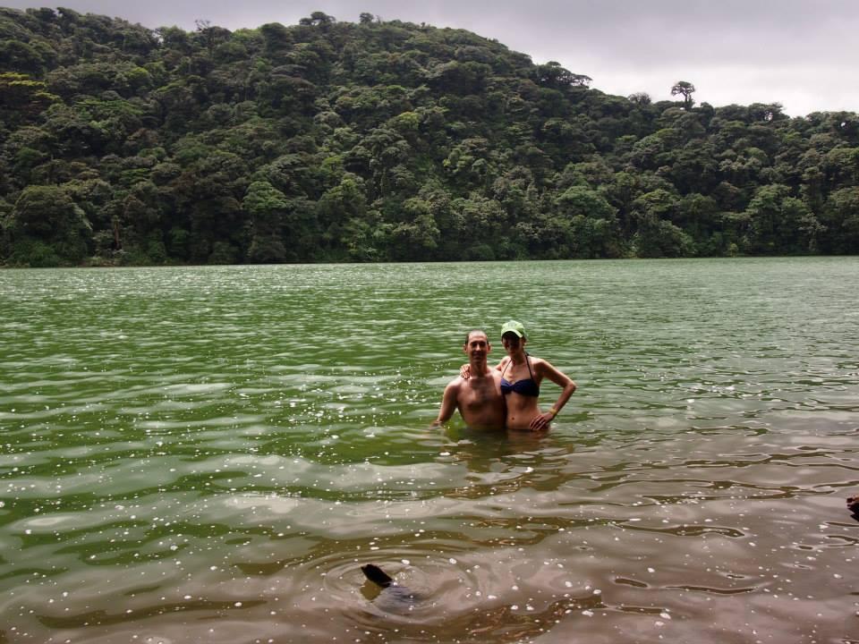 Swimming in Cerro Chatto
