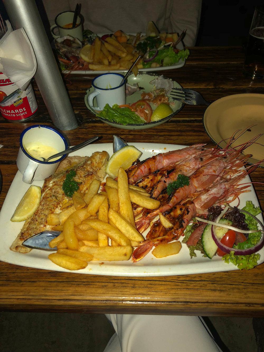 South Africa Travel Guide: Restaurant Knysna
