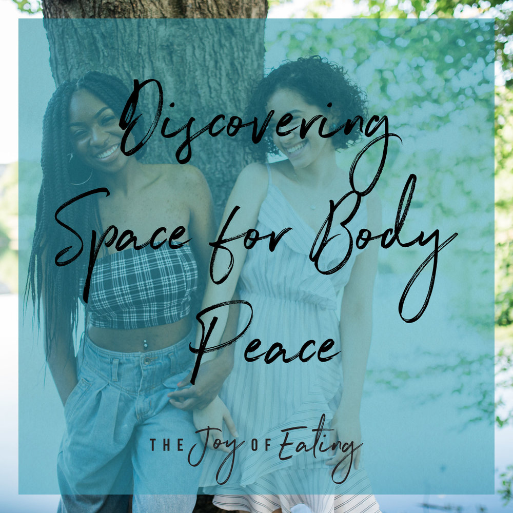Discovering Space for Body Peace #bodypeace #bodypositive #bodyacceptance #quote