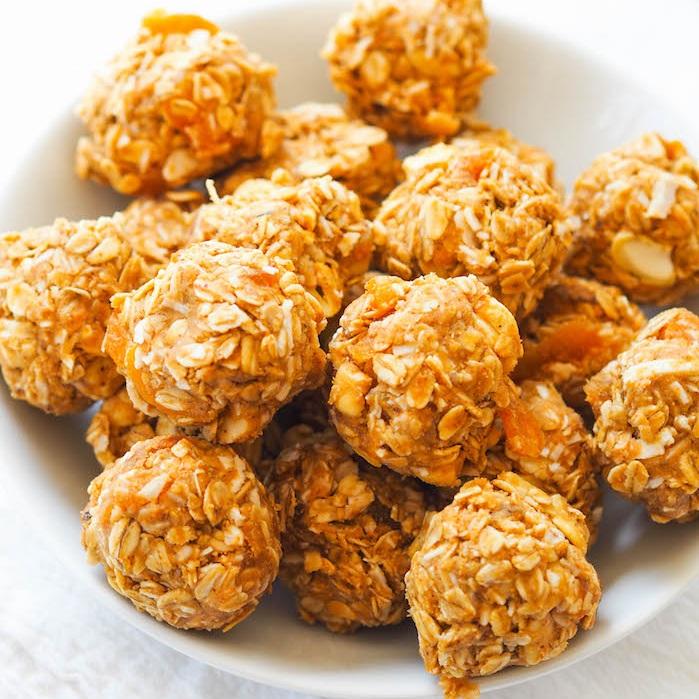 Salty Cashew Coconut Energy Bites