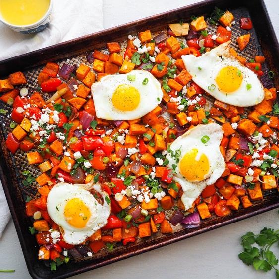 Southwestern Breakfast Hash with Chili and Orange