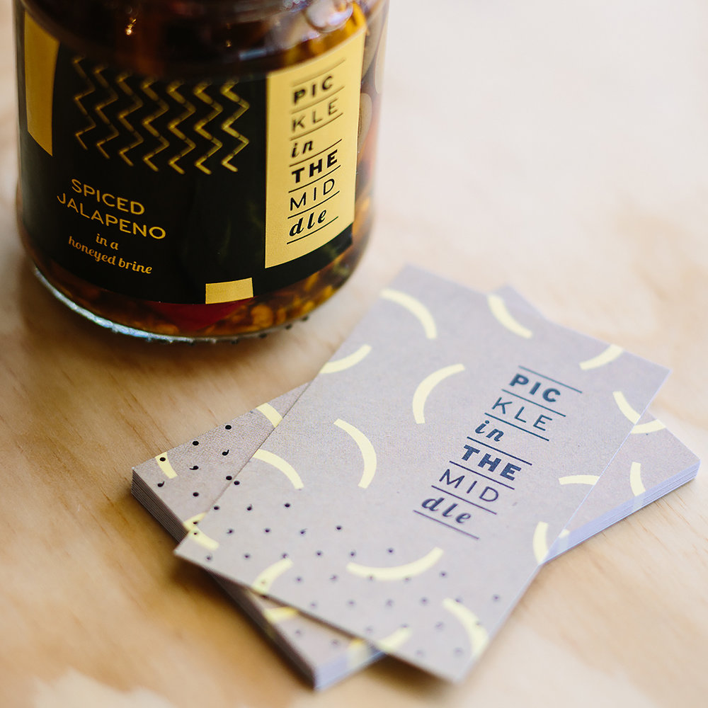 Project: 2015 Eat Drink Design Awards Client: Pickle in the Middle Award: Shortlisted (Best Identity Design)