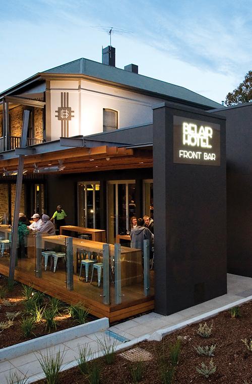 Belair Front Bar