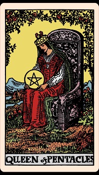The Card Of The Day The Queen Of Pentacles Elliot Oracle Tarot Card Readings It depicts bonuses, rewards, promotions when the 6 of pentacles appears in a reading it is often a depiction of the enquirer, suggesting that they are a kind, thoughtful and generous person. elliot oracle