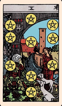 Image result for ten of pentacles