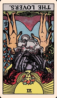 The Card of the Day: The Lovers (Reversed) — Elliot Oracle - Tarot