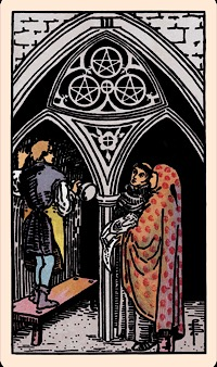 The Card Of The Day The Three Of Pentacles Elliot Oracle Tarot Card Readings Life with this person maybe very dreamy and romantic. elliot oracle