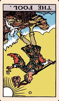 The Card of the Day: The Fool (Reversed) — Elliot Oracle