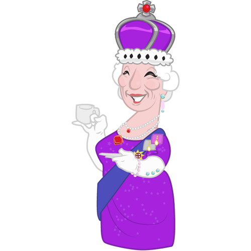 Queen Elizabeth II - Our missing Royal Majesty! But those aliens made a big mistake when messing with the monarchy.
