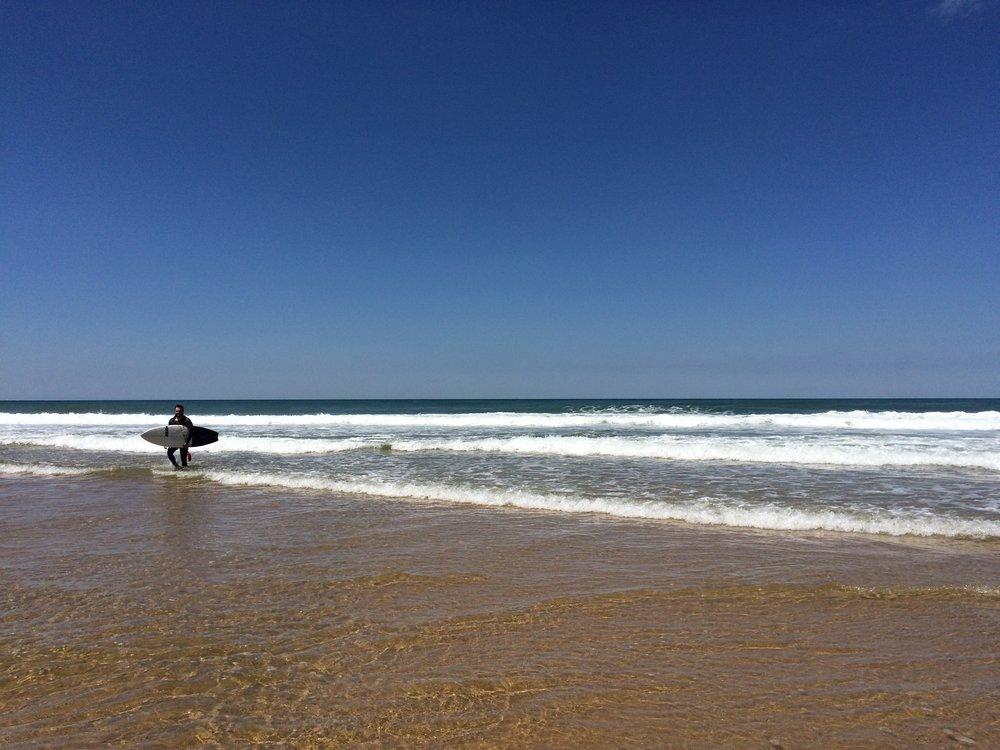 Surf, Praia Macas