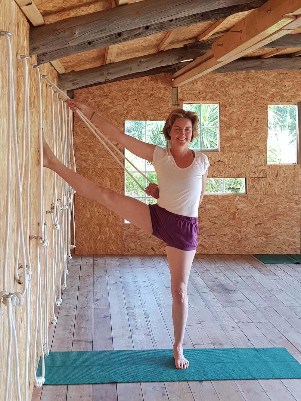 weekly yoga classes with Georgia