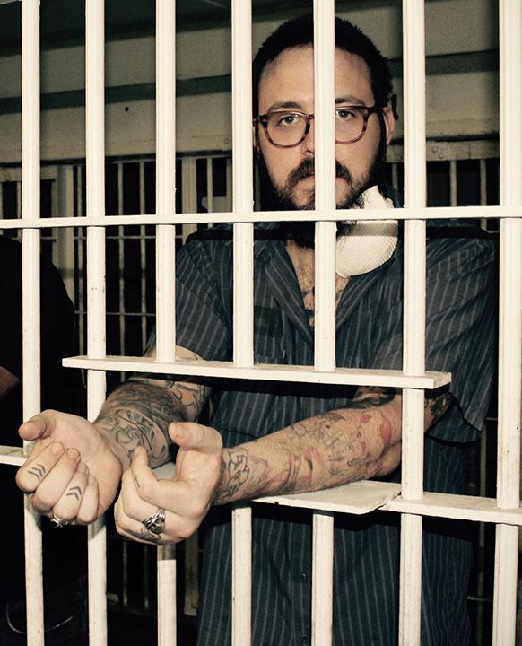 John Swab visiting Ulster County Jail