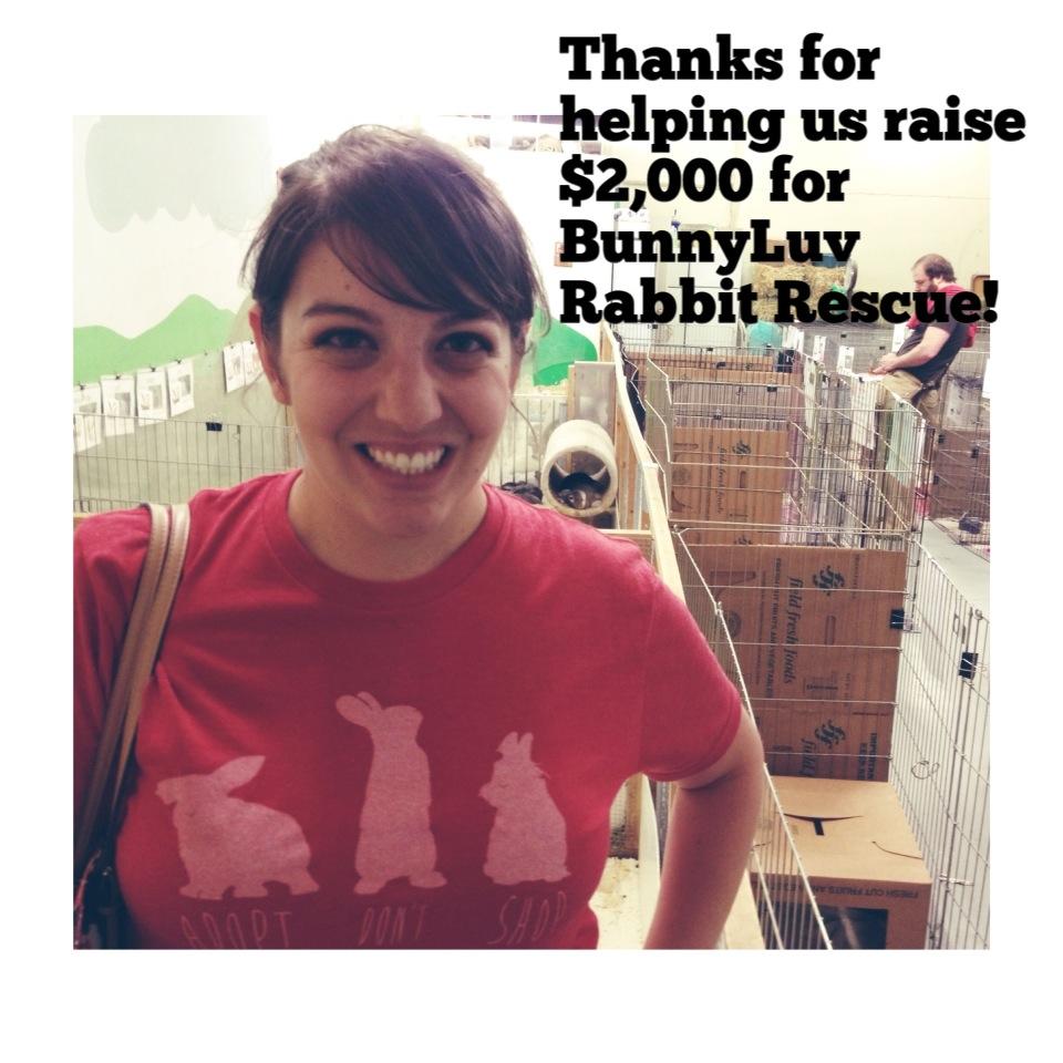 Update: Buy a Shirt, Save a Bun! Larissa