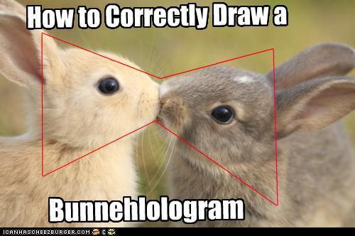 How to Draw a Bunnehlologram