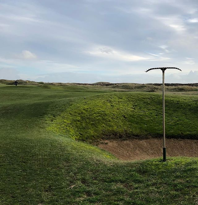 Thank you Rye. A great day. Blogpost our now at www.thelinksgolfer.com. #linksgolf  #ryegolfclub #golf
