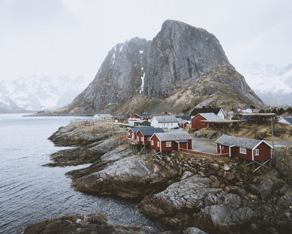One of the most photographed views in Lofoten