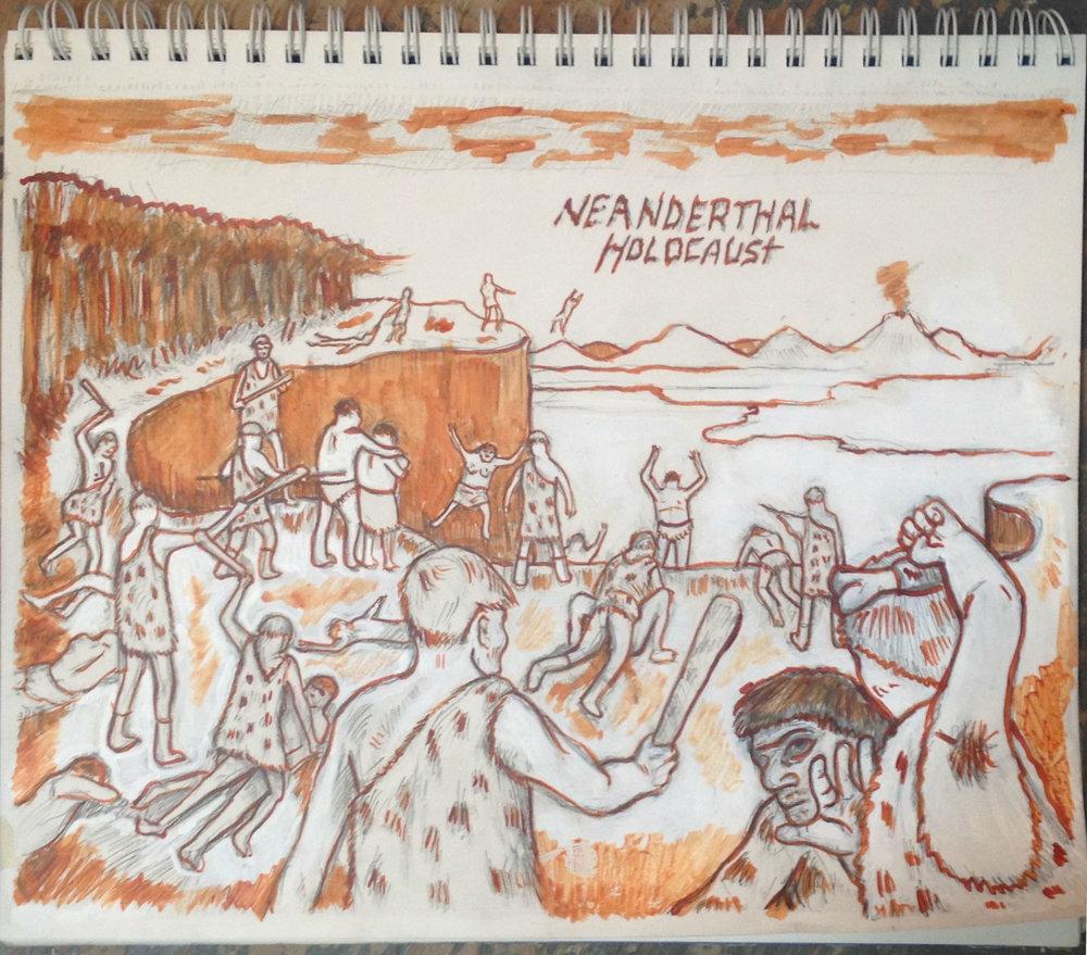 Neanderthal Holocaust