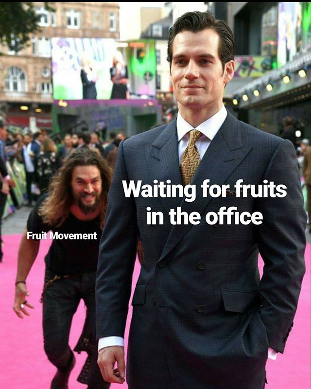 We get the best reactions when we deliver fruits to your office. Your health (and your laughs) are why we do what we do!