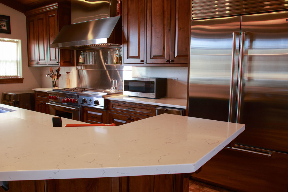 Kitchen for kings! Enjoy the highest-grade appliances for the ultimate cooking experience.