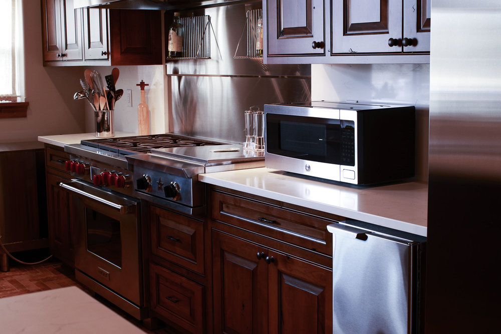 Special features, such as an Alto Shaam Combi Oven, allow for different cooking styles all in one place (steam, fry, smoke)