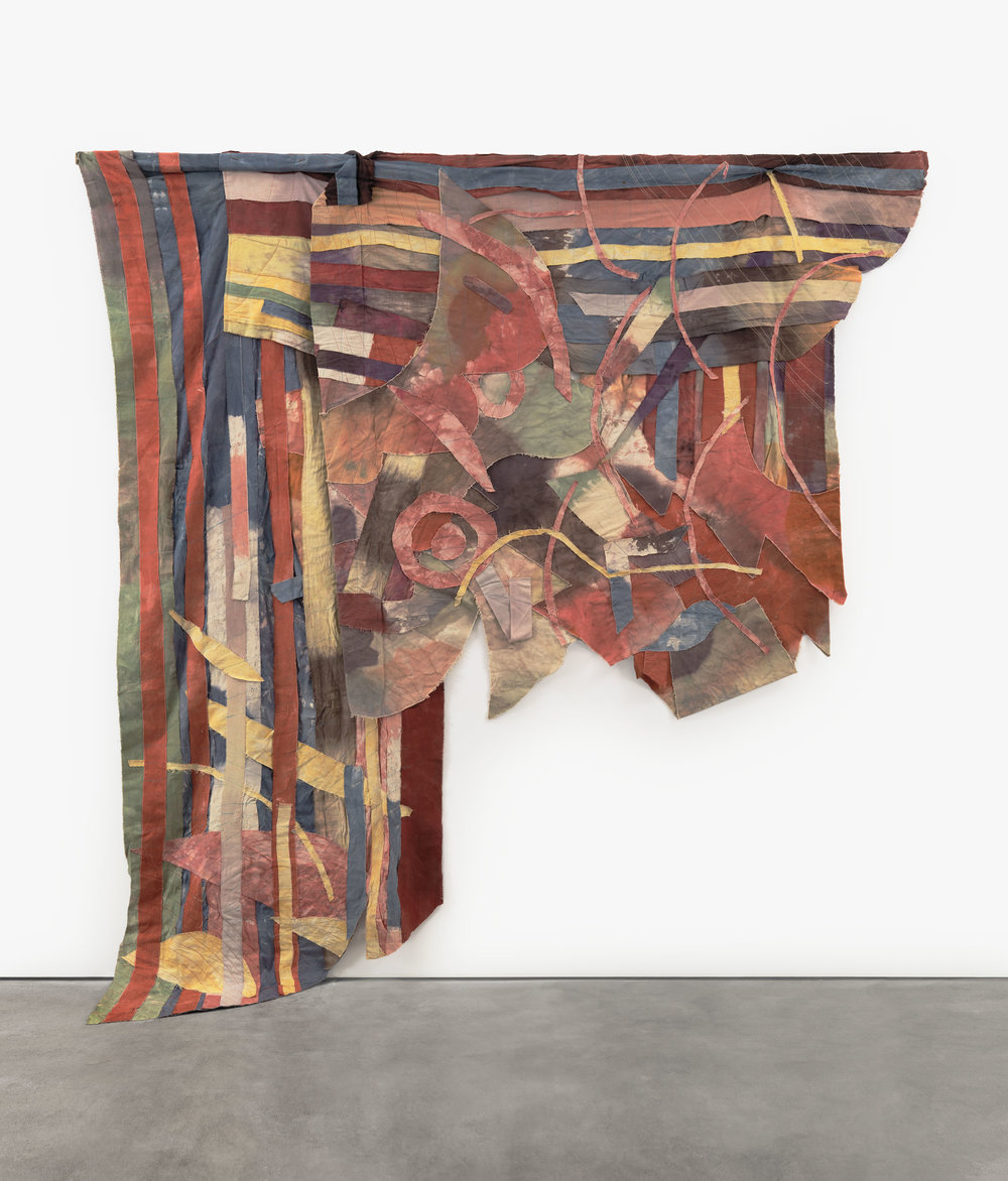 Al Loving: Torn Canvas - Garth Greenan Gallery, New York | November 8 – December 29, 2012