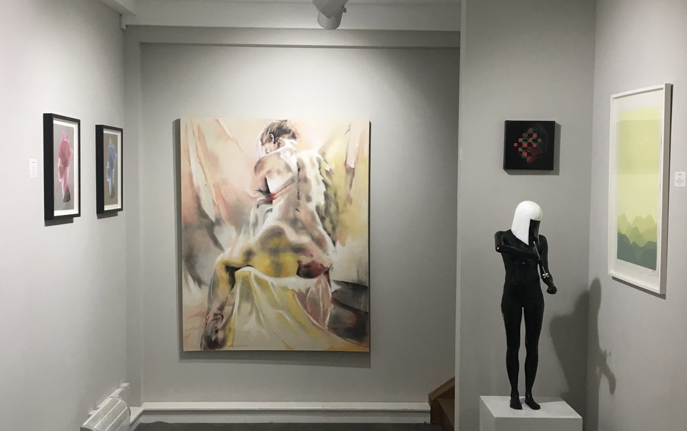 "Herrick Gallery, Piccadilly - ""Losing Focus"" exhibited at the Herrick Gallery in Mayfair, London.January 2019"