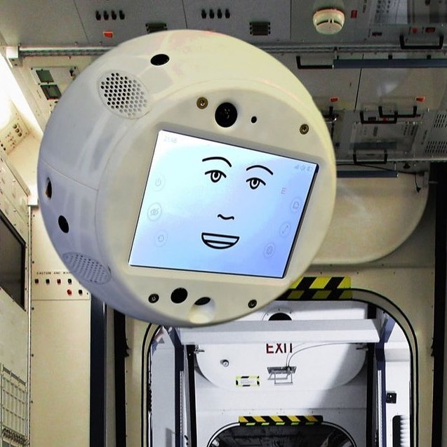 Can we please talk about the giant Tamagotchi @nasa and @ibm are sending to the @iss tomorrow?  All jokes aside, CIMON (Crew Interactive Mobile Companion) is the first autonomous AI that will be flying around the ISS. CIMON has no planned returned date and is intended to be a full crew member with the capability to express emotions through its (creepy) digital mouth. It (he?) is supposed to help ESA astronaut Alexander Gerst (@astro_alex_esa) by assisting with missions, storing data, and even acting as a flying webcam. CIMON will be able to move around on its own and come when astronauts call, though it is limited to battery power. Gerst will have to change batteries about ever two hours CIMON is in use. A major disadvantage right now is CIMON only speaks English, but that is hoped to change soon. CIMON is powered by Watson, a proven AI that already works in 20 industries here on Earth - and, yes, won @jeopardy. What do you think of the AI? Creepy, cool, or both? Anyone getting 2001: A Space Odyssey vibes? Let me know! - Photo Credit: @nasa, @ibm - #Watson #AI #WatsonAI #NASA #IBM #Tamagotchi #Space #ISS #Orbit #Astronaut #Technology #Mars #Science #Programming #Engineering #STEM #Creepy #Robot