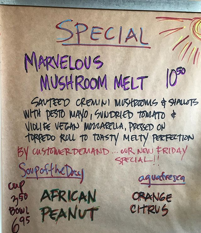 Melty melty mmmm... #cheftanyaskitchen #mushroom #vegan #comfortfood #warmsandwich #coolday #eatplants #palmsprings